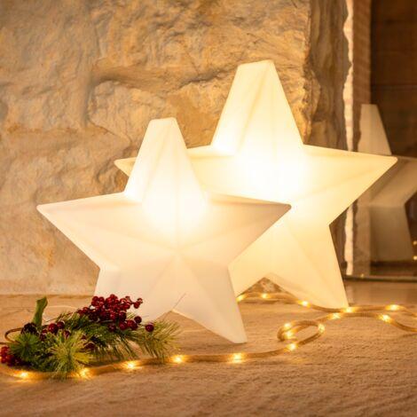 Étoile lumineuse d'intérieur MOOVERE 60cm Indoor lumière chaude