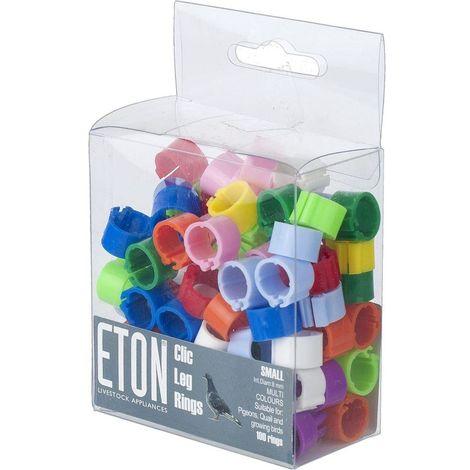 ETON Clic Leg Rings (100 Pack)
