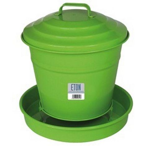 ETON Cottage Garden Covered Feeder (One Size) (Green)