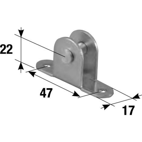 "main image of ""Étrier fixation vérin à gaz MADICOB - 2957"""