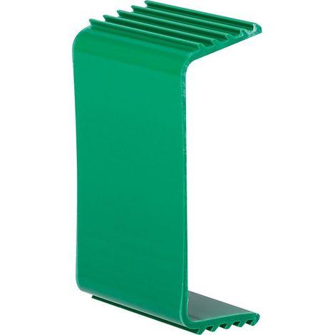 Etrier de fixation de tube pour goulotte plastique rigide Largeur goulotte (mm) 110