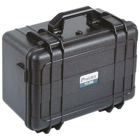 Étui pour instruments de précision Plastique ABS résistant à l'eau 340.0x260.0x170.0mm Proskit TC-266