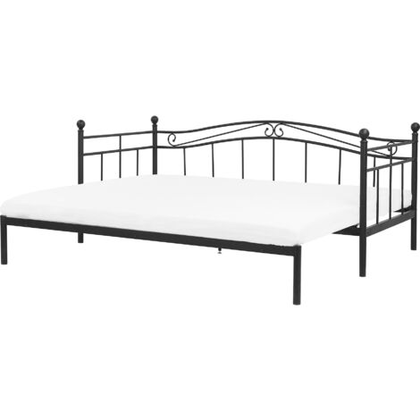 EU Single to Super King Size Daybed Black TULLE