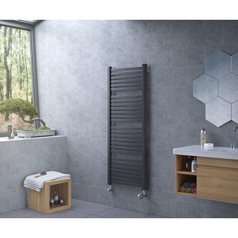 Eucotherm Fino Ladder Towel Rail Anthracite 945mm X 580mm
