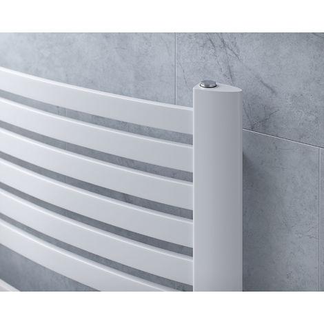 Eucotherm Fino Ladder Towel Rail White 1215mm X 580mm