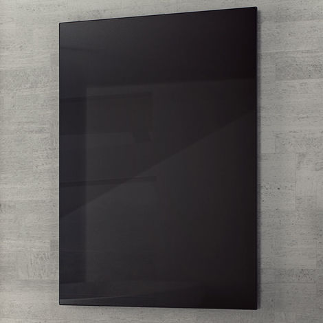Eucotherm Glass Infrared Black Radiator 600mm X 1200mm - 800 Watts
