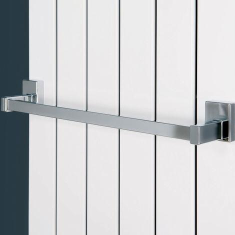 Eucotherm Magnetic Steel Radiator Towel Bar 400mm Chrome