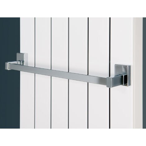 Eucotherm Magnetic Towel Rail Fit Steel Radiator Chrome 500mm