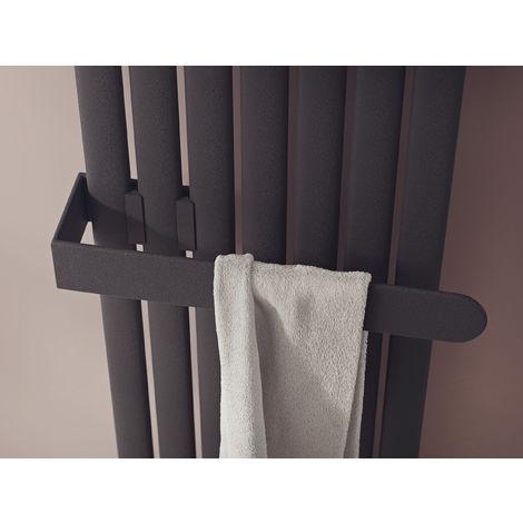 Eucotherm Nova Towel Rail Fit Single Range Anthracite 584mm
