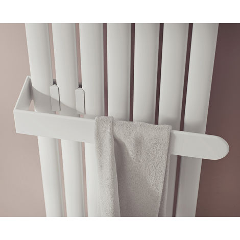 Eucotherm Nova Towel Rail Fit Single Range White 584mm