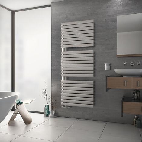 Eucotherm Nova Trium Ladder Designer Towel Rail White 1512mm X 600mm