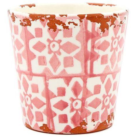 Eura Tiesto Eura cerámica 14 x 12cm coral