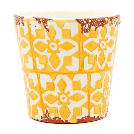 Eura Tiesto Eura cerámica 14x12cm amarillo