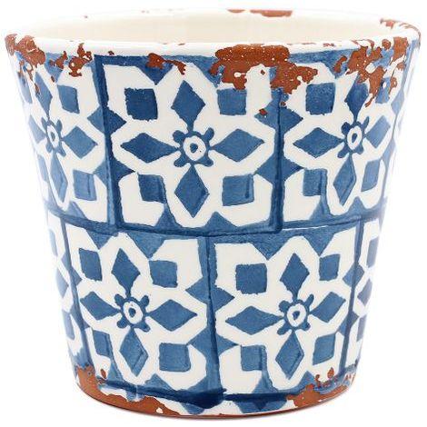 Eura Tiesto Eura cerámica 14x12cm azul teal