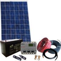EUREKA250 - Kit fotovoltaico ad isola 250Wp completo con componenti di alta qualita'