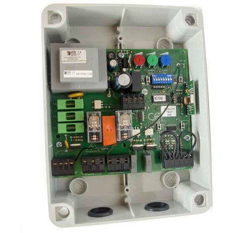 "main image of ""EURO 230 M2 mini - Cuadro de control para puerta batiente"""