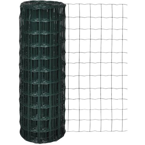 Euro Fence Steel 10x1.0 m Green