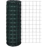 Euro Fence Steel 10x1.0 m Green
