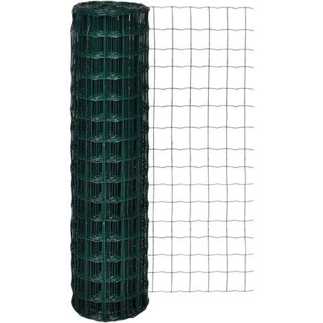 Euro Fence Steel 10x1.5 m Green