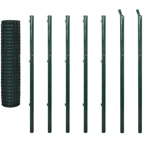 Euro Fence Steel 10x1.96 m Green