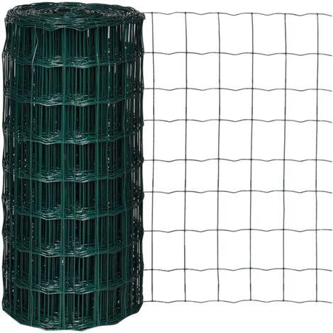 Euro Fence Steel 25x0.8 m Green