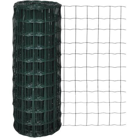 Euro Fence Steel 25x1.0 m Green