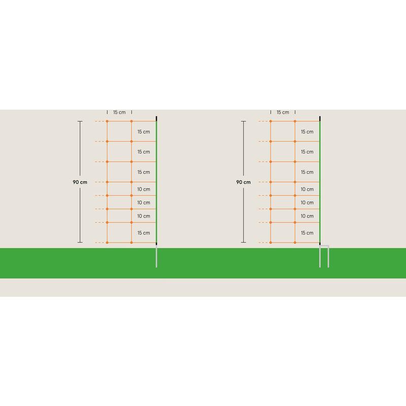 Filet, 50 m - Euro Netz