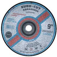 "EUROCUT 230MM/9"" x 3.0 mm FLAT METAL"