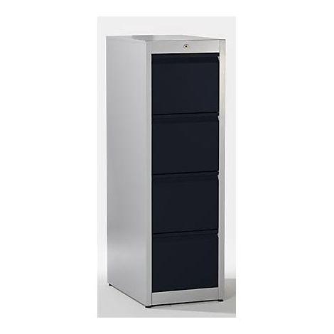 EUROKRAFT Armoire de sécurité pour stockage extérieur - corps d'armoire vide - h x l x p 2100 x 1200 x 600 mm - Coloris corps: gris clair RAL 7035