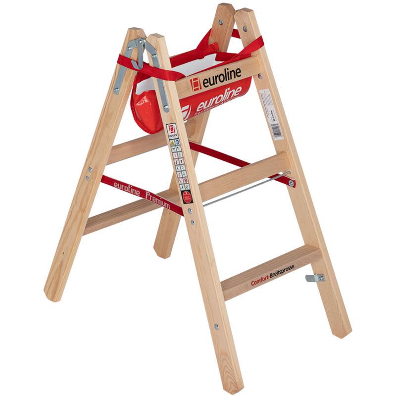 stabiler Haken für bis zu 2 Eimer an der Leiter. Eimerhaken für Sprossenleiter