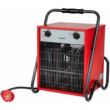 Eurom EK 15002 Calentador de taller - 15000 W - 400V - con cable de alimentación