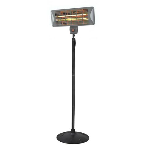 """main image of """"Eurom Q-time 2000S - Chauffage pour terrasse - 2000W - 470 x 500 x 2020mm"""""""