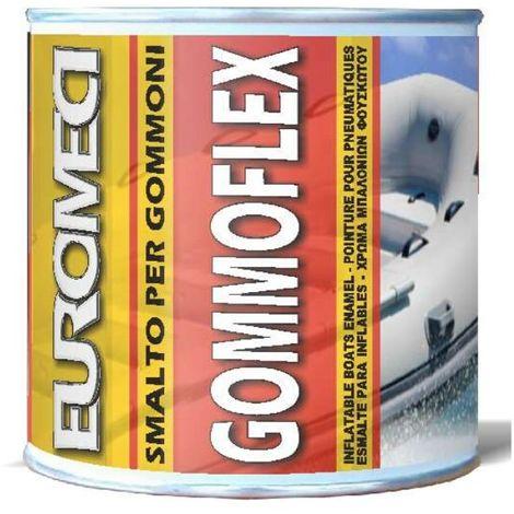 Euromeci gommoflex smalto per gommoni colore rosso confezione da 750 ml