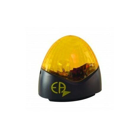 "main image of ""EUROPE AUTOMATISMES FCEA Feu de Signalisation Clignotant Orange 230 V Avertisseur Lumineux Portail"""