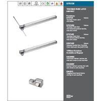 Eurospec Touch Bar Panic Latch - Silver