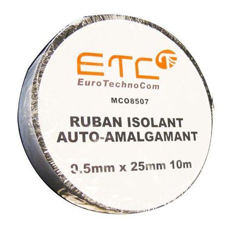 EuroTechnoCom MCO8507 - aislante cinta vulcanizada 0,5 mm x 25 mm x 10 m