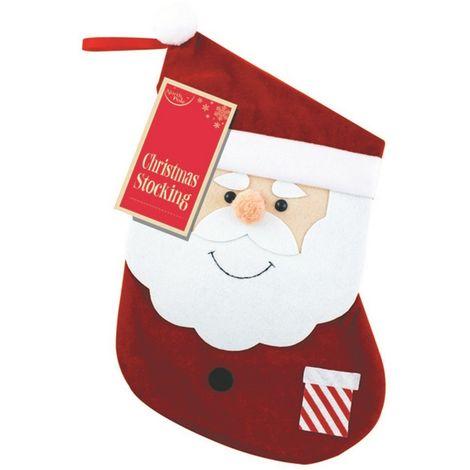 Eurowrap Christmas Stockings (Small) (Red)