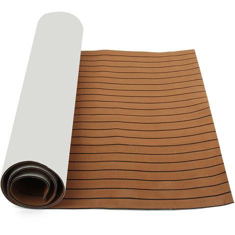 Eva Foam Flooring Self Adhesive Yacht Boat Floor Mat 3.0Mx0.9M Hasaki