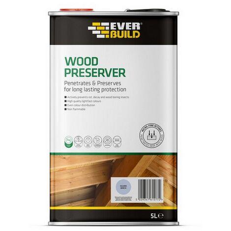 EVELJSB05 - Everbuild Silver Birch Wood Preserver 5L