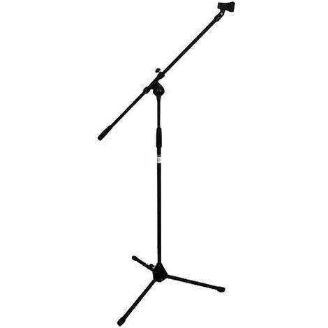 Événement de musique microphone trépied télescopique bras microphone titulaire de scène noir WJG 2000496