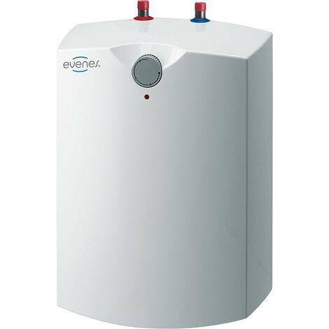 EVENES Warmwasserspeicher Boiler Druckfest 15 Liter Übertisch/Unterisch 230V 2 kW GT15-Obertisch