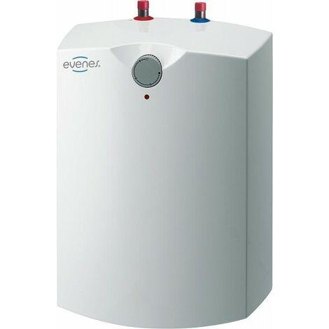 EVENES Warmwasserspeicher Boiler Druckfest 15 Liter Übertisch/Unterisch 230V 2 kW GT15-Untertisch