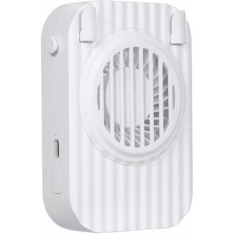 eventail suspendu super silencieux, mini ventilateur, sans eventail, blanc