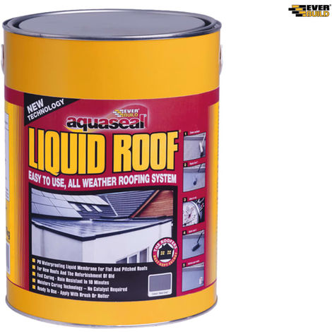 EVERBLD AQUASEAL LIQUID ROOF SLATE GREY 7KG