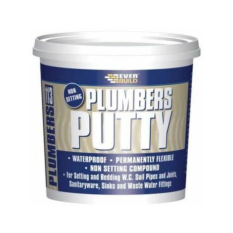 Everbuild 113 Plumbers Putty Beige 750g