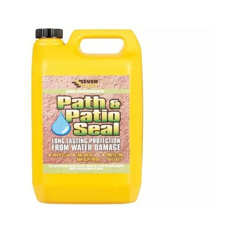 Everbuild 405 Path And Patio Seal To Seal And Protect Patios 5 Litre