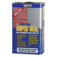 Everbuild 408 Super Seal High Performance Water Repellent 5 Litre