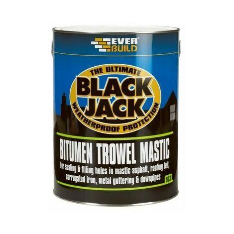 Everbuild 903 Bitumen Trowel Mastic 5 Litre
