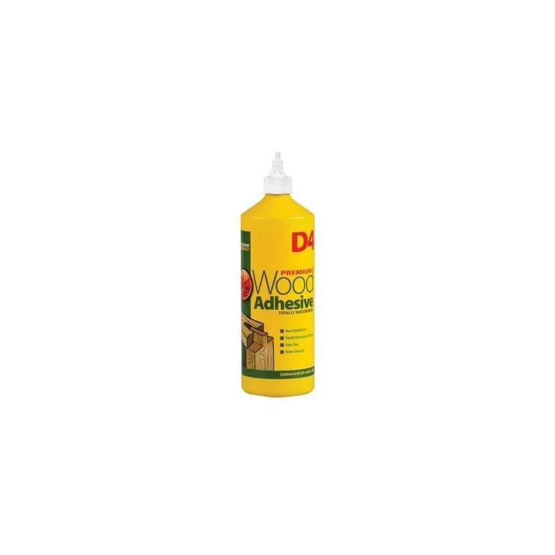 Image of D41 D4 Wood Adhesive White 1 Litre - Everbuild