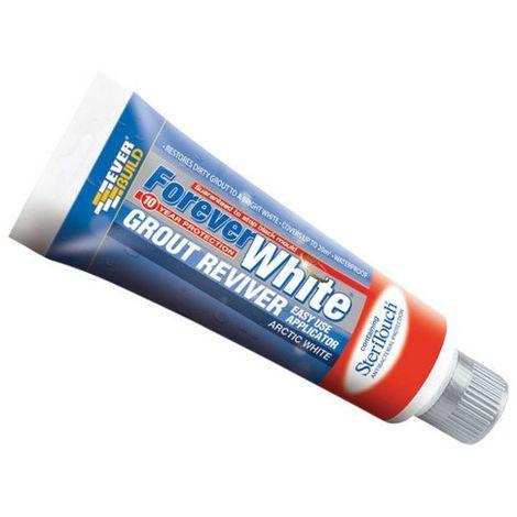 Everbuild Forever White Grout Reviver 200ml Tube